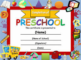 Name A Star Certificate Template Cool Free Certificate Templates Templates Certificates Preschool