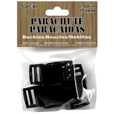 parachute cord buckles black product actions