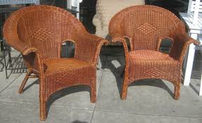 wicker patio chairs on clearance