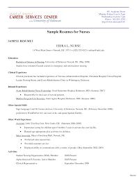 Printable Resume Samples Printable Of Nursing Resume Samples For Freshers Australia 100 37