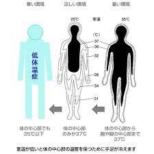 低 体温 症 症状