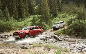 Comparison - Jeep Cherokee Trailhawk 2018 - vs - Toyota 4Runner ...