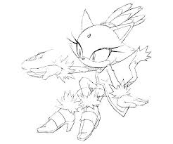 Sonic Blaze Coloring Pages Luxury Blaze The Cat Coloring Pages