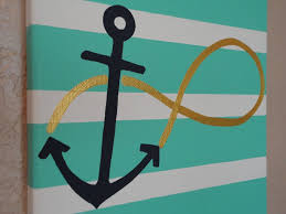 image of small decorative anchors
