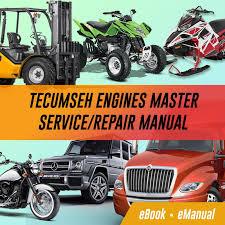 Engines | Tecumseh Service Repair Workshop Manuals