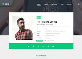 Resume Website Gorgeous Material Design ResumeCV Portfolio Awwwards Nominee