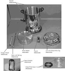hamilton beach 60 cup coffee urn. Wonderful Urn Hamilton Beach D50065 Parts List And Diagram  AB  EReplacementPartscom For 60 Cup Coffee Urn