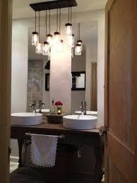 table nice hanging bathroom lights 9 lighting pendant best home design top over vanity for pictures