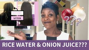 here s how rice water onion juice can help your hair grow