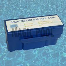 5way Pool Spa Water Chemical Test Kit Chlorine Ph Bromine Alkalinity Acid Demand Ebay