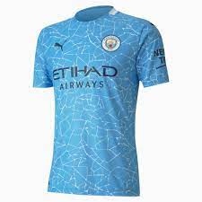 Man City Home Authentic Men's Jersey | Team Light Blue-Peacoat | PUMA  Football Clubs