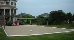 Modern Design Backyard Volleyball Court Pleasing Outdoor Sand Backyard Beach Volleyball Court
