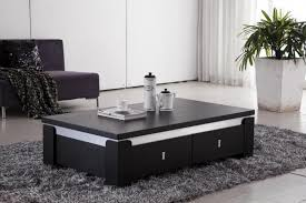 image of living room center table with drawer