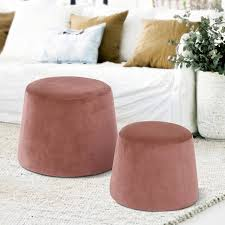 round accent chair. Homycasa Round Ottoman, Fabric Ottoman Without Storage, Accent Chair, Furniture Chair F