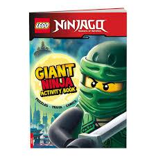 LEGO® NINJAGO® Giant Ninja Activity Book - AMEET