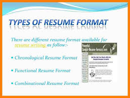 Types Of Resume Formattypes Of Resume Format 3 728jpgcb1307637135