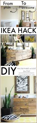 hack ikea furniture. DIY RECLAIMED WOOD BUFET- IKEA HACK Hack Ikea Furniture