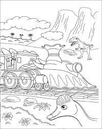 Tranh tô màu tàu hỏa cho bé: Chất lượng tốt, hình ảnh đơn giản