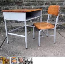 childs school desk chair heywood wakefield 1958 maple wood steel