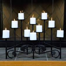 fireplace candle holder design full size of fireplace candle holder crate and barrel black 10 candle imperial fireplace candelabra candle holder for inside