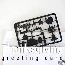 Printable Thanksgiving Greeting Cards 3d Printable Thanksgiving Greeting Card By 3dshook