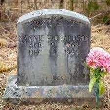 Nannie Warner Richardson (1863-1935) - Find A Grave Memorial
