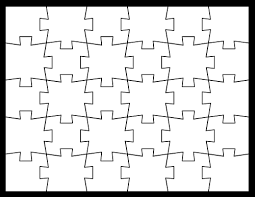 Puzzle Piece Template Gorgeous Blank Jigsaw Puzzle Templates Make Your Own Jigsaw Puzzle For Free