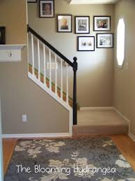 Stairs Wall Decoration Ideas Interior Incredible Home Interior Decoration Using Light Blue