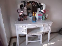 White Makeup Organizer Makeup Storage Bathroom Shiny Makeup Vanity Chair Cabinet Awful