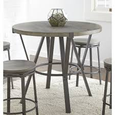 42 round table. Perry Grey Round 42-inch Counter Height Dining Table By Greyson Living 42 4