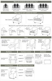 Measuring Guide To Help You Choose The Right Size Slipcover