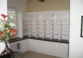 built in home office furniture and desks 19 built in office