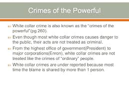 white collar crime white collar crime 1   2