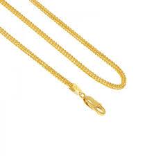 singapore round gold chain 30
