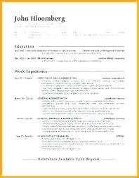 Cv Curriculum Vitae Classic Resume Template Plain Simple Basic