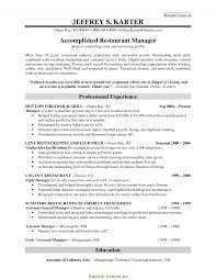 Great Pub Manager Cv Restaurant Manager Skills Resume Manager