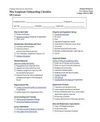 New Hire It Checklist Employee Checklist Template Excel New Free It Onboarding Plan