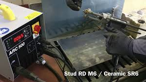 <b>Stud welding</b> machine for studs and insulation <b>pins</b> - YouTube
