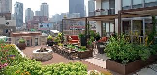 Rooftop Gardens: Ancient Idea - Modern Benefits - Modern Urban Roof Garden  - Patio -
