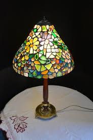 Tafellamp Glazen Lampenkap Bol Vijf Open Bolvormige Lampenkappen