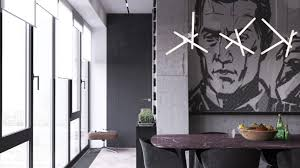 bachelor pad lighting. Contemporary Lighting Dark Moody Bachelor Pad Design For 2 Single Bedroom L Shaped Examples Includes Floor Plans Interior