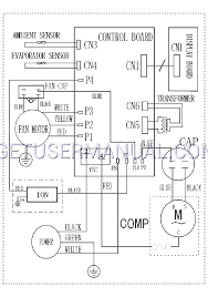 frigidaire air conditioners ffra2822r2 wiring diagram