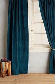 Teal Bedroom Curtains Teal Outer Curtain Washed Velvet Curtain Http Www