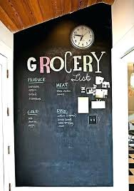 pictures on wall chalk paint ideas chalkboard kitchen painted craze for