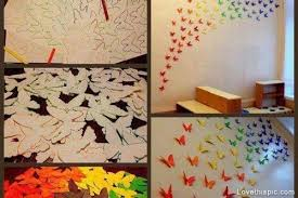 new ideas diy wall decor pinterest diy butterfly wall art pictures