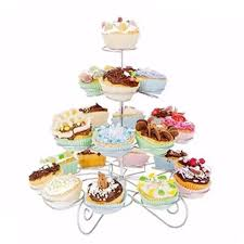 adventurers detachable 3 layers iron cake stand 13 cupcake holder cup tray table decoration