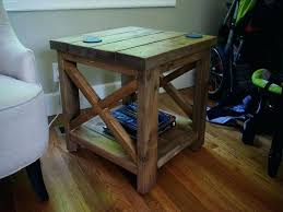 homemade rustic end tables easy and creative table ideas on stylish simple saw miter sled space