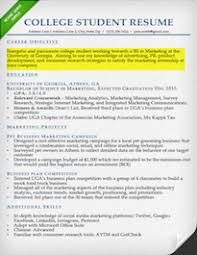 Resume Objective On Resume For College Student Best Inspiration