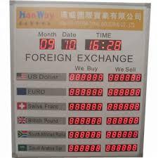 Bank Exchange Screen Billboard Exchange Bank Screen Billb Money Exchange Rate Board For Bank Buy Exchange Rate Sensor For Currency Exchange