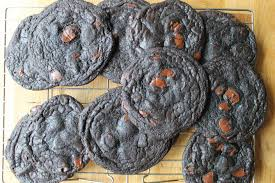 black cocoa cookie coffee almond ice cream sandwiches recipe no caffeine for the kids they already can stay awake out it no sugar rush eruption needed for them